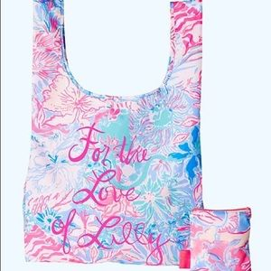 Lilly Pulitzer Packable Shopping Tote NEW